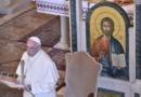 Visita di Papa Francesco alla Basilica di Santa Sofia a Roma e incontro con la Comunità greco-cattolica Ucraina