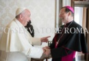 Pope Francis received the Apostolic Nuncio in a private audience
