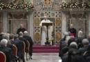 Україна на першому місці у Промові Папи Франциска до Дипломатичного Корпусу