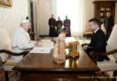 Papa Francesco ha ricevuto il Presidente Zelenskyy