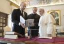 Il Santo Padre ha ricevuto in Udienza il Primo Ministro dell'Ucraina